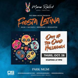 Flyer: Fiesta Latina - Day of the Dead Halloween