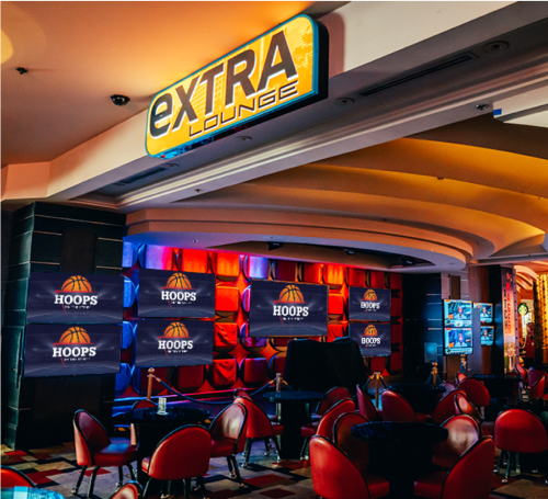 Hoops Viewing Party at Extra Lounge - Planet Hollywood Extra! Lounge