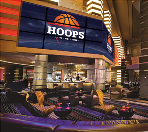 Hoops VIP Fancave Experience + Buffet - Heart Bar at Planet Hollywood