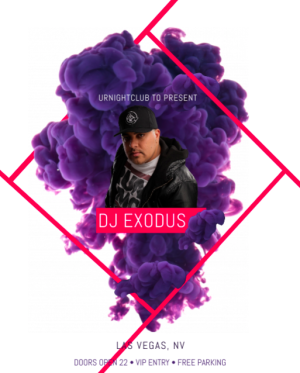Flyer: DJ Exodus is Back!