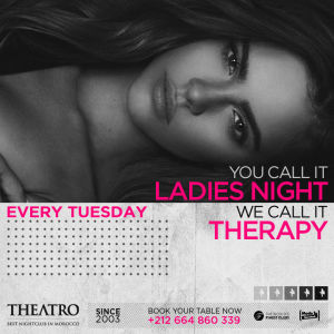 Ladies Night Therapy, Tuesday, October 16th, 2018