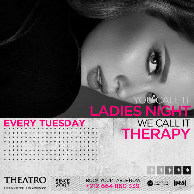 Ladies Night Therapy, Tuesday, November 6th, 2018