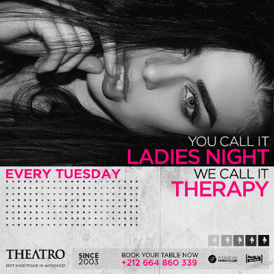 Ladies Night Therapy, Tuesday, October 23rd, 2018