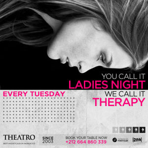 Ladies Night Therapy, Tuesday, November 13th, 2018