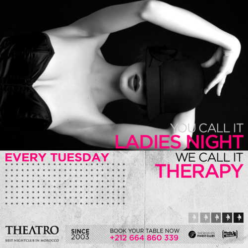 Ladies Night Therapy - Theatro