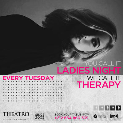 Ladies Night Therapy, Tuesday, December 18th, 2018