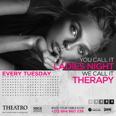 Ladies Night Therapy, Tuesday, December 25th, 2018