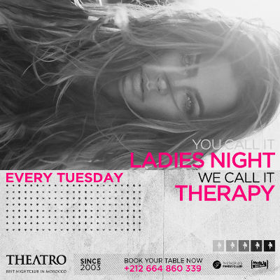 Ladies Night Therapy, Tuesday, January 1st, 2019