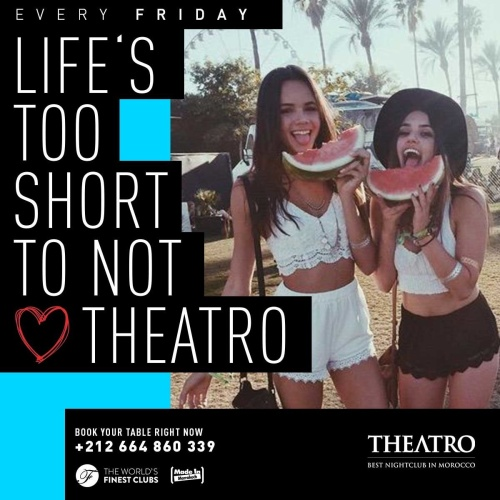 Life's Too Short - Theatro