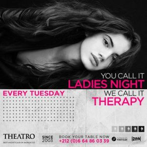 Ladies Night Therapy, Tuesday, January 15th, 2019