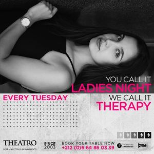 Ladies Night Therapy, Tuesday, January 22nd, 2019