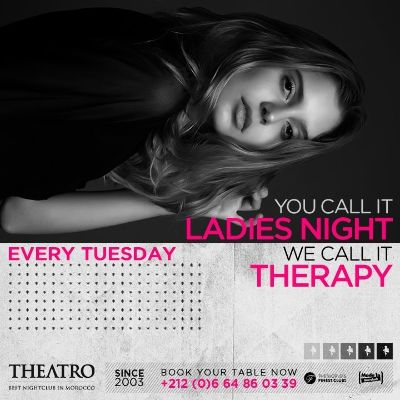 Ladies Night Therapy, Tuesday, January 29th, 2019