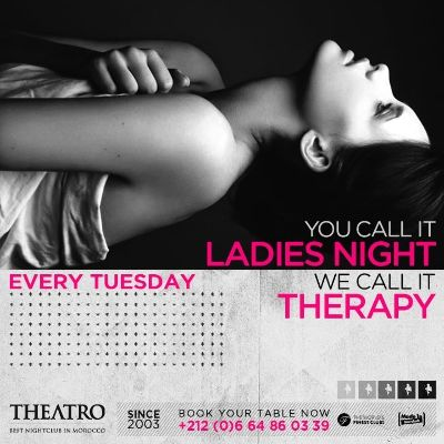 Ladies Night Therapy, Tuesday, February 5th, 2019
