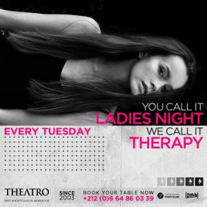 Ladies Night Therapy, Tuesday, February 12th, 2019