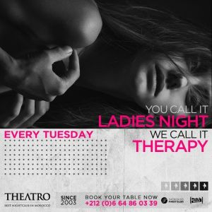 Ladies Night Therapy, Tuesday, February 19th, 2019