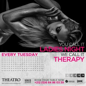 Ladies Night Therapy, Tuesday, March 5th, 2019