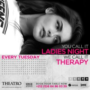 Ladies Night Therapy, Tuesday, March 19th, 2019