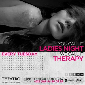 Ladies Night Therapy, Tuesday, March 26th, 2019