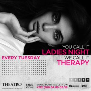 Ladies Night Therapy, Tuesday, April 2nd, 2019