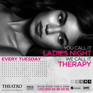 Ladies Night Therapy, Tuesday, April 9th, 2019
