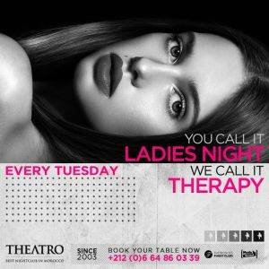 Ladies Night Therapy, Tuesday, April 16th, 2019