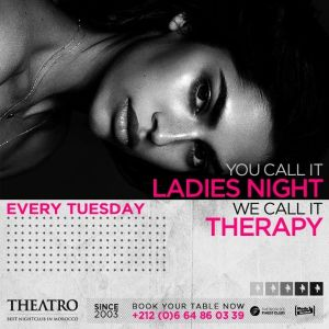 Ladies Night Therapy, Tuesday, April 23rd, 2019