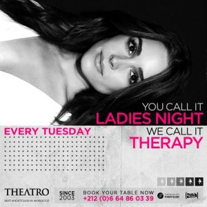 Ladies Night Therapy, Tuesday, May 7th, 2019