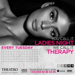 Ladies Night Therapy, Tuesday, May 14th, 2019