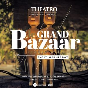 Le Grand Bazaar, Wednesday, March 13th, 2019