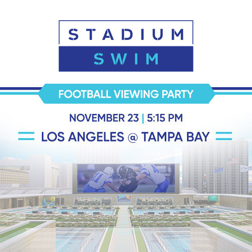 Football Viewing Party - Monday, Nov 23, 2020 @ 5:10pm
