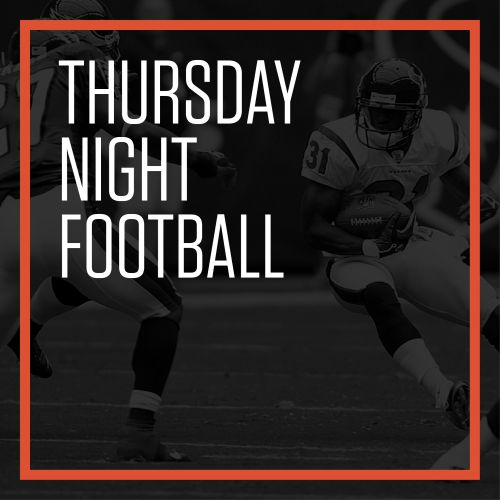 Thursday Night Football - Thursday, Nov 19, 2020 @ 12:00am