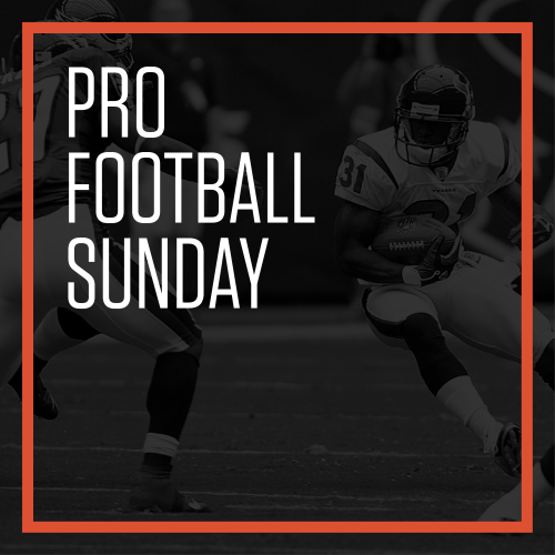 Pro Football - Sunday, Nov 1, 2020 @ 12:00am