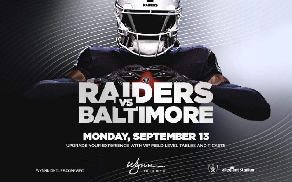 Baltimore Ravens at Wynn Field Club Las Vegas thumbnail