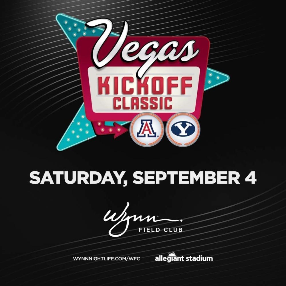College Football Kickoff BYU vs UA at Wynn Field Club Las Vegas thumbnail
