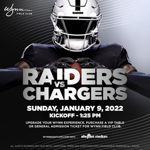 Flyer: Raiders vs Chargers