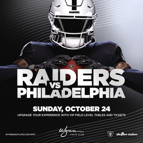 Flyer: Philadelphia vs Raiders