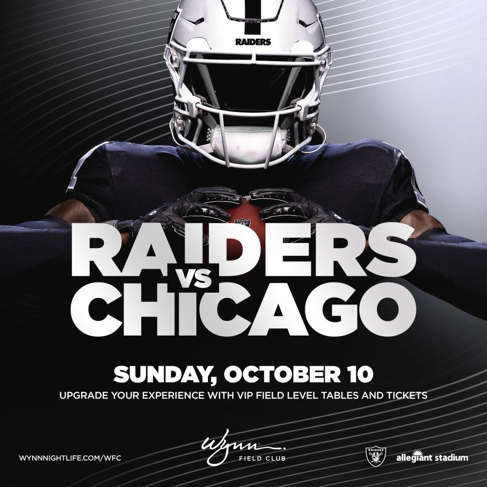 Chicago vs Raiders at Wynn Field Club Las Vegas thumbnail
