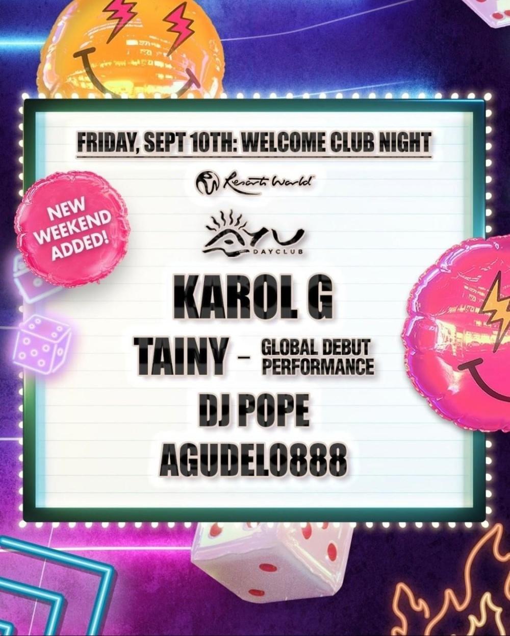 Karol G at Ayu Nights thumbnail