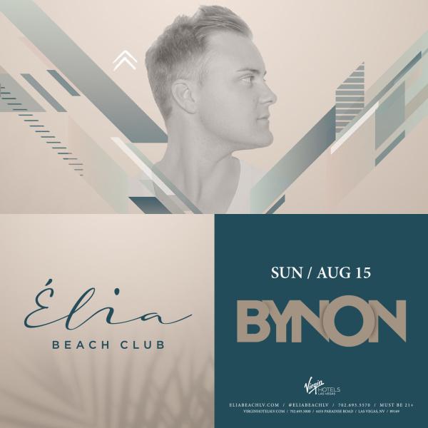 Bynon at Elia Beach Club thumbnail