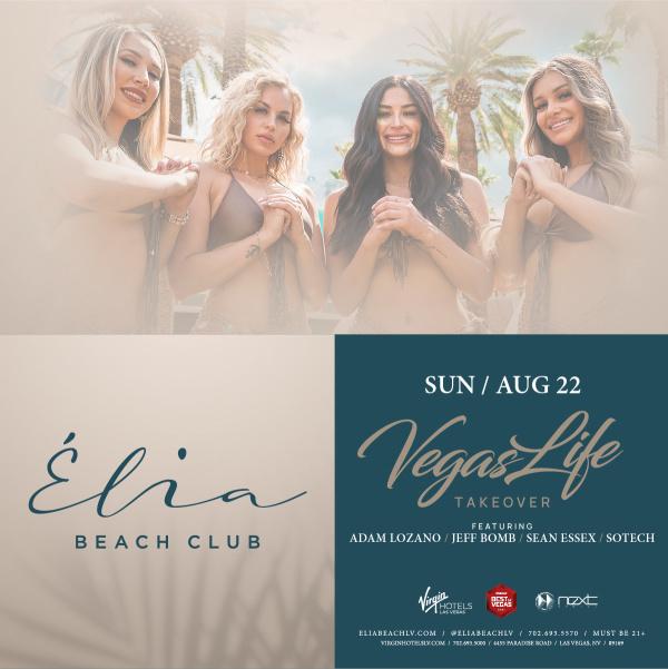 Vegas Life Takeover at Elia Beach Club thumbnail