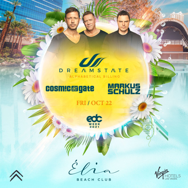 Dreamstate Presents Cosmic Gate & Markus Shulz at Elia Beach Club thumbnail