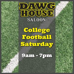 Flyer: College Football Saturday