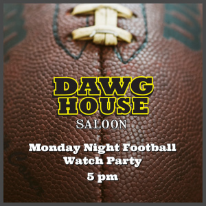 Flyer: Monday Night Football