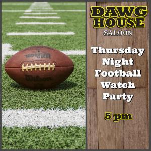 Flyer: Thursday Night Football