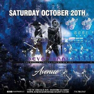 Avenue Saturday, Saturday, October 20th, 2018