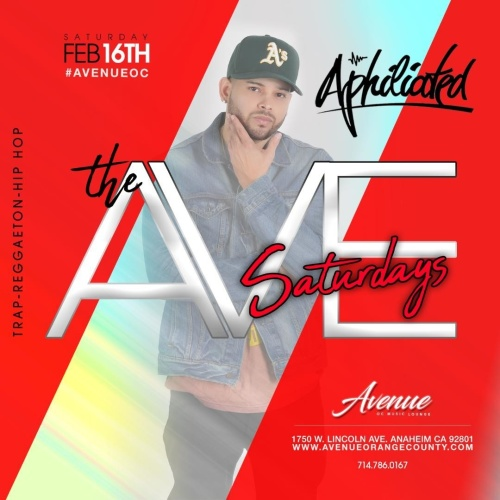 Avenue Saturday - Avenue Restaurant & Music Lounge