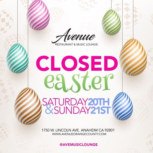 Closed - Avenue Restaurant & Music Lounge