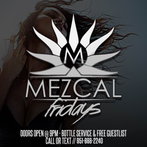Mezcal Friday's, Friday, October 5th, 2018