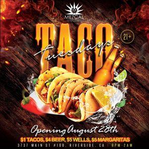 Taco Tuesday - Mezcal Ultra Lounge