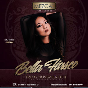 Mezcal Fridays, Friday, November 30th, 2018